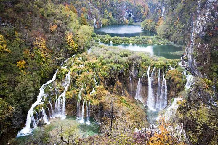 Bosque de Plitvice, Croacia - Bosques del mundo que parecen encantados