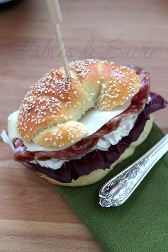 Brioche salate di kamut con lievito madre | Fables de Sucre
