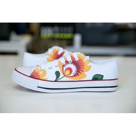 MAZOVIA FOLK DESIGN. CREATE YOUR OWN PRINT ON SNEAKERS AT WANNASHOE.COM