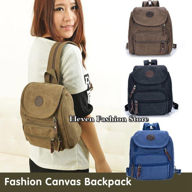 Backpacks  Free Shipping Fashion Canvas Women Backpack School Bag Small Student Bag Female Shoulder Bag,Small Women Backpack *** Ceci est une broche d'affiliation AliExpress.  Cliquez sur l'image pour visiter le site internet