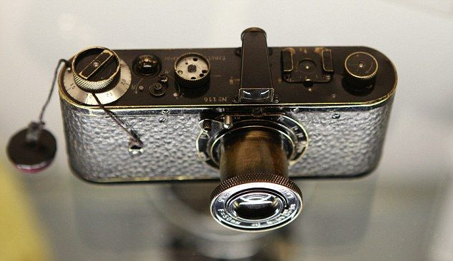 The Leica camera, number 116, was built in 1923 as part of a pilot series of 25 cameras