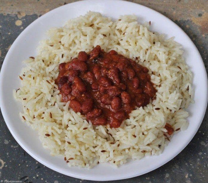 Rajma Masala Recipe | Punjabi Vegetarian Side Dishes | Spicy Kidney Beans Curry | Veg Restaurant style rajma masala recipe by Foodomania.com