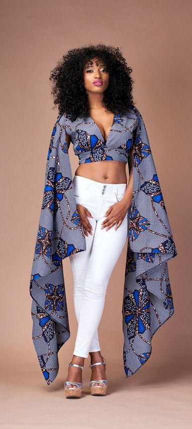 Kato Top.A beautiful statement unlined top ready to wear either with your favourable pair of jeans or skirt. Ankara | Dutch wax | Kente | Kitenge | Dashiki | African print bomber jacket | African fashion | Ankara bomber jacket | African prints | Nigerian style | Ghanaian fashion | Senegal fashion | Kenya fashion | Nigerian fashion | Ankara crop top (affiliate)