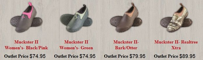 We are your source for all Muck Boots, muck shoes, and footwear accessories - all from The Original Muck Boot Company. Muck Boots Outlet provides exceptional service and outlet prices all Muck Boots purchases. We are your one stop source for all your Muck Boots for men, women, and kids.