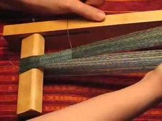 How to Maintain straight edges for narrow weavings « Weaving :: WonderHowTo