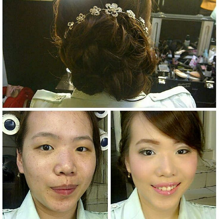 Makeup bridesmaid