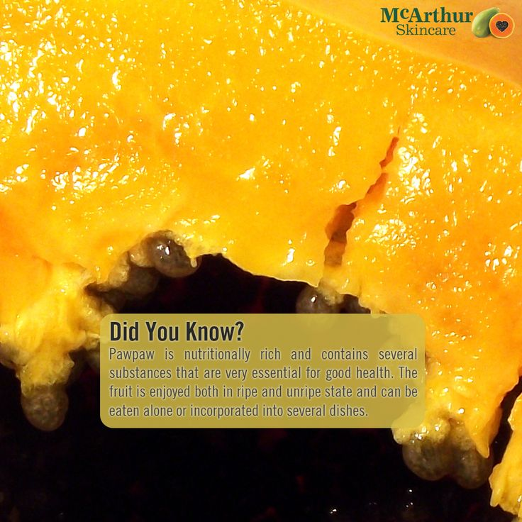 Did you know?   Pawpaw is nutritionally rich and contains several substances that are very essential for good health. The fruit is enjoyed both in ripe and unripe state and can be eaten alone or incorporated into several dishes.  Visit our website at mcarthurskincare.com for more details.  #mcarthurskincare #pawpaw #papaya #papain #papaw #caricapapaya #australiangrown #petrochemicalfree #notoxins #noparabens #nonasties #skincare