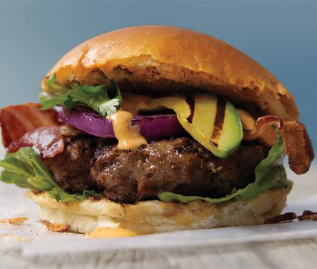 Find the recipe for Triple Smoke Burger and other ground beef recipes at Epicurious.com