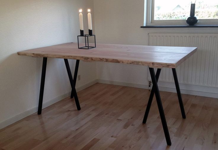 plank table made of douglas planks from http www. Black Bedroom Furniture Sets. Home Design Ideas