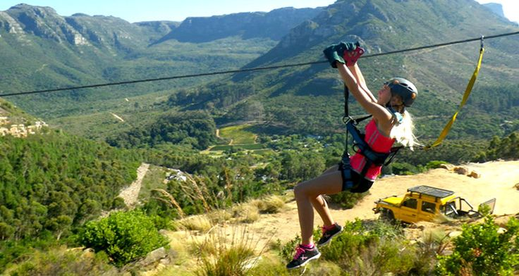 South Africa's most extreme zipline tour, the Table Mountain Zipline is an exhilarating way to spend a few hours…