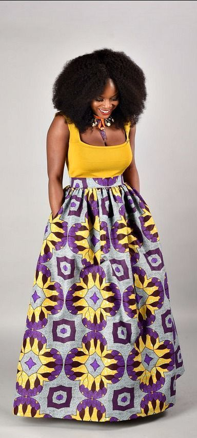 Debbie Maxi Skirt African print skirt. Ankara | Dutch wax | Kente | Kitenge | Dashiki | African print bomber jacket | African fashion | Ankara bomber jacket | African prints | Nigerian style | Ghanaian fashion | Senegal fashion | Kenya fashion | Nigerian fashion | Ankara crop top (affiliate)