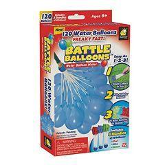 Battle Balloons 120-pk. Water Balloon Maker Kit