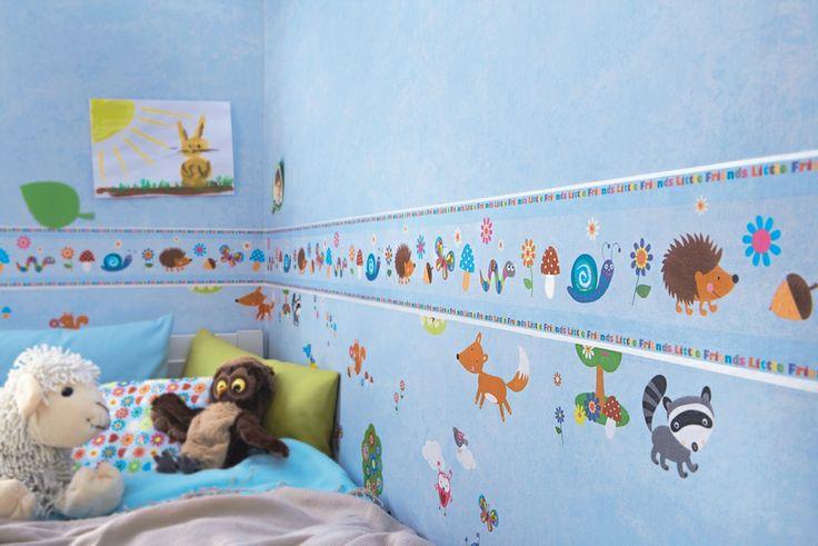 Papel Pintado Rasch Bambino 287448 y Cenefa Infantil c-287646. ¡¡TOTALMENTE NUEVO!! Papeles pintados infantiles para niños y cenefas infantiles a un precio inmejorable, por menos de 60 EUROS. Ideales para decorar las habitaciones de los niños con frescura y mucha luz.