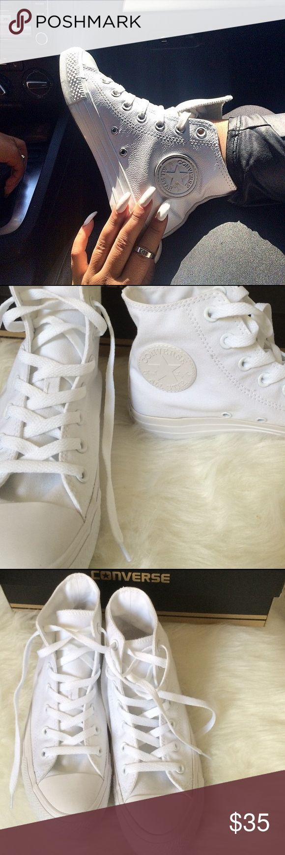 FLASH SALECONVERSE WOMENS SIZE 7 SHOES WHITE Size 7 Converse Shoes Sneakers