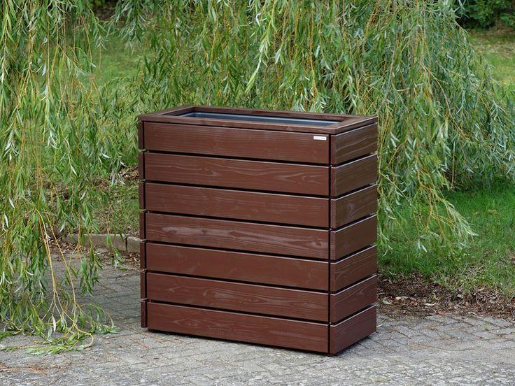 Kräuterbeet / Pflanzkasten / Pflanzkübel Holz L Höhe