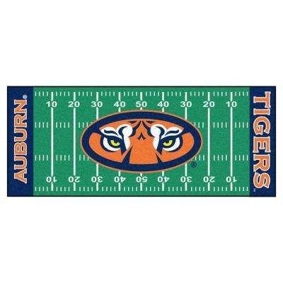 Auburn University 2 ft. 6 in. x 6 ft. Football Field Rug Runner Rug