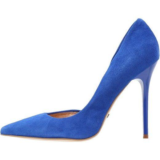 Buffalo Szpilki blue zalando niebieski sztuczna
