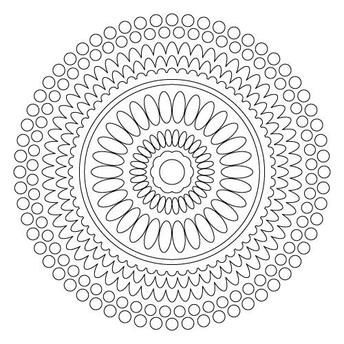 Mandala Art Free Coloring Pages | Mandala Coloring Pages http://www.squidoo.com/free-mandalas-coloring ...