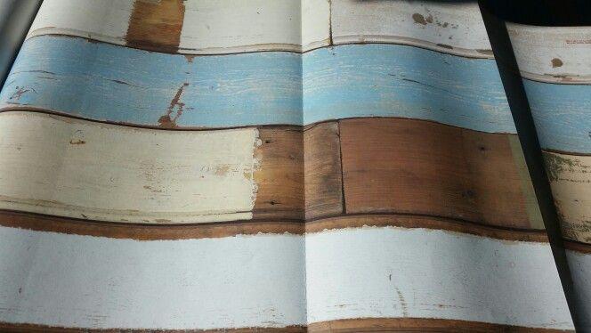 Behangpapier houtlook