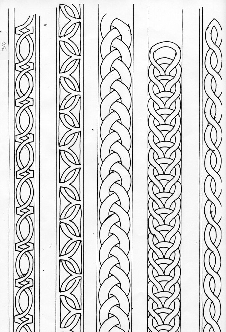 celtic band pattern - Recherche Google                                                                                                                                                                                 Mehr