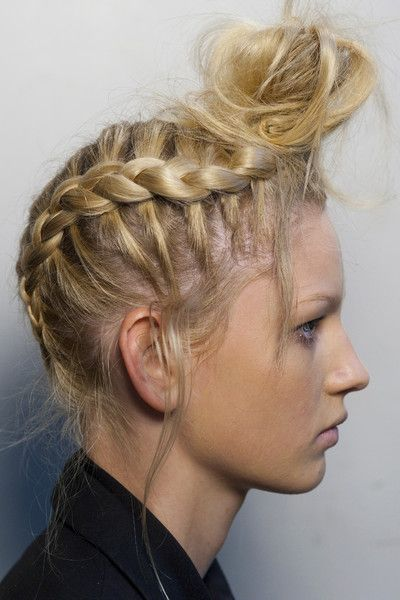 : Crazy Hair, Prom Hair, Hair Braids, Fashion Photography, Hair Looks, Hairstyles Ideas, Braids Blondes, Braids Hair, Beautiful Trends