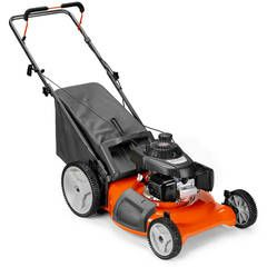 Shop Husqvarna LC221A 163cc 21-in Self-Propelled All-Wheel Drive Residential Gas Lawn Mower with Mulching Capability at Lowes.com