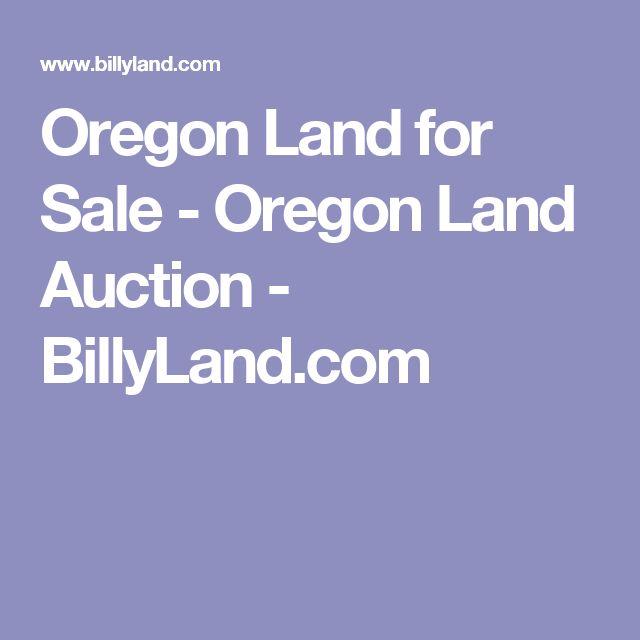 Oregon Land for Sale - Oregon Land Auction  - BillyLand.com