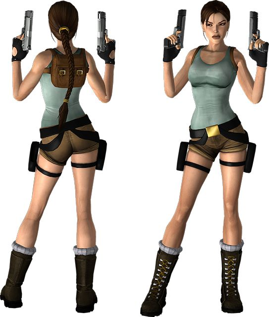 classic lara croft outfit reference stuff pinterest. Black Bedroom Furniture Sets. Home Design Ideas