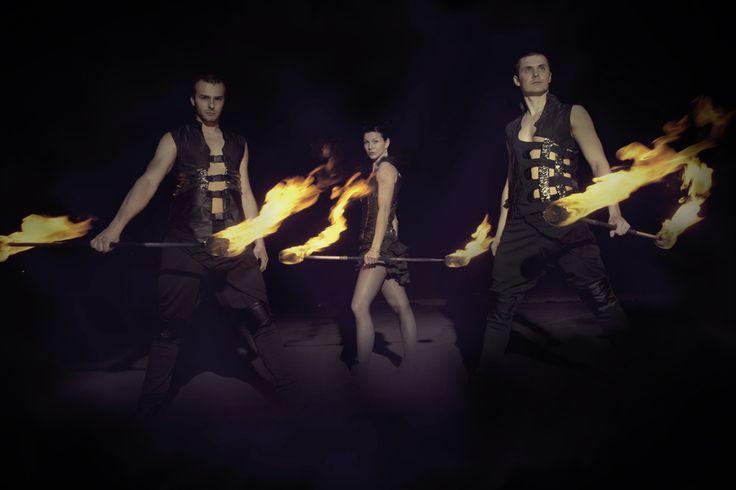 Anta Agni firedancers. http://antaagni.com/fire-show/