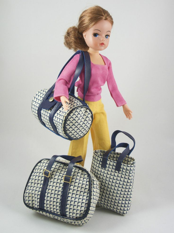 Sindy Fleur TRAVEL BAGS | No Doll | Vintage Pedigree Sindy Otto Simon | eBay