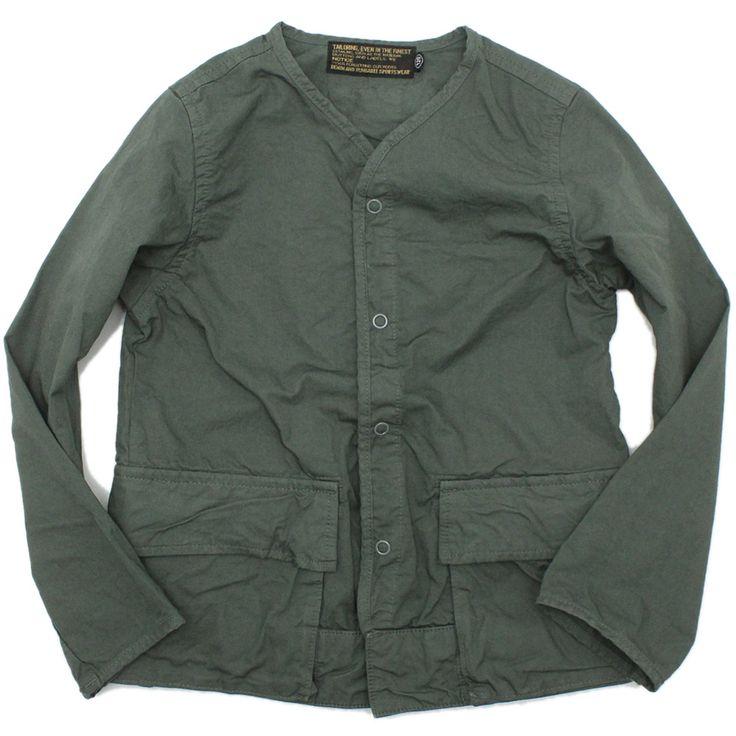 DENIM DUNGAREE(デニム&ダンガリー):ダンプ ノーカラー JK 3GRグレー の通販【ブランド子供服のミリバール】