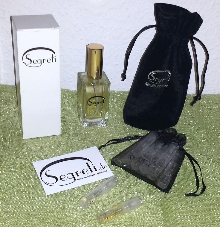 Segreti vertreibt Parfum Dupes, Duftzwillinge mit 100% Duft. Segreti bietet über 250 Duftkompositionen, von den mir eine kostenlos zum Testen zur Verfügung gestellt wurde. Die Duftzwillinge können ...