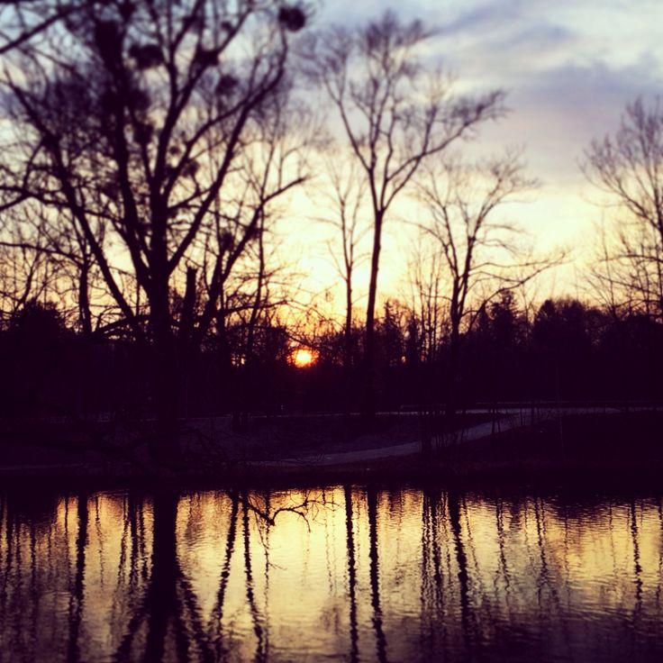 morning light at the Isar
