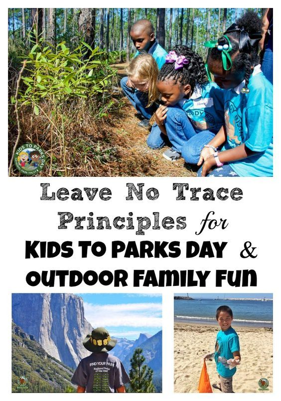 Leave No Trace Principles for Kids. Tips and activities to raise young nature stewards who respect and protect the great outdoors.