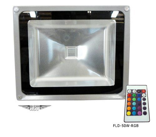 Outdoor Flood Light With Power Outlet: RGB LED Flood Light Lamp 110V-265V 50W Floodlight Outdoor