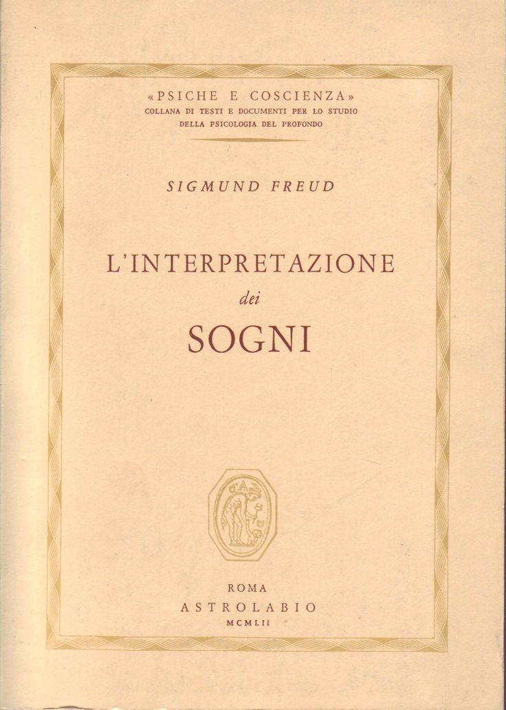 Sigmund Freud L'interpretazione dei sogni Astrolabio
