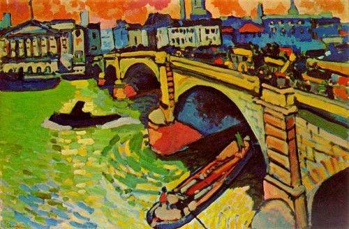 André Derain le Pont de Londres The museum of Modern art New york