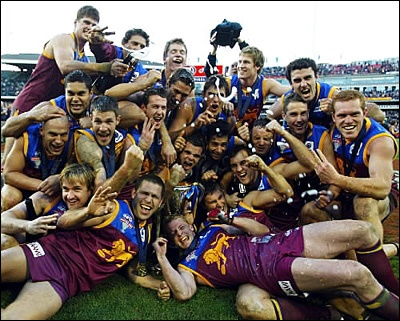 Brisbane Lions Premiers threepeat!