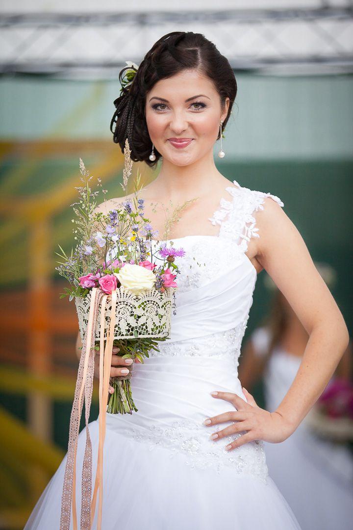 Lúčna svadobná kytica