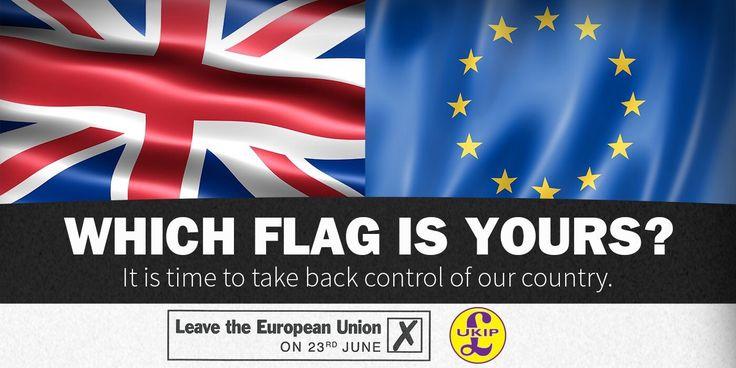 The British flag or the EU rag?