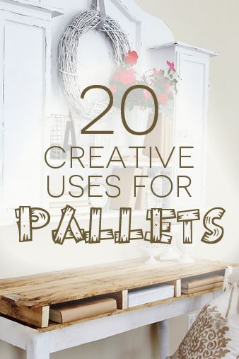 20 creative ideas and inspiration for pallet lovers