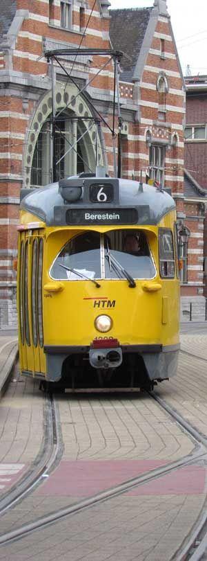 nederlandse trams - PCC Carla te Den Haag