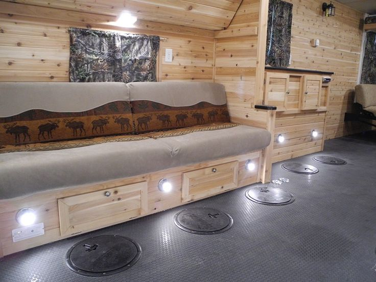 25 best ideas about ice fishing shanty on pinterest ice for Fish house trailer
