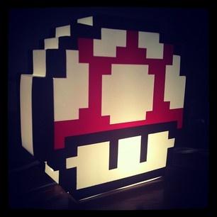 Mario Light Up Mushroom & 40 best Exciting Lighting images on Pinterest | Lighting design ... azcodes.com