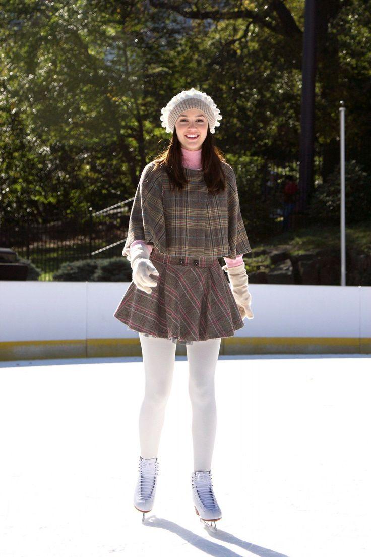 blair waldorf ice skating outfit - Buscar con Google