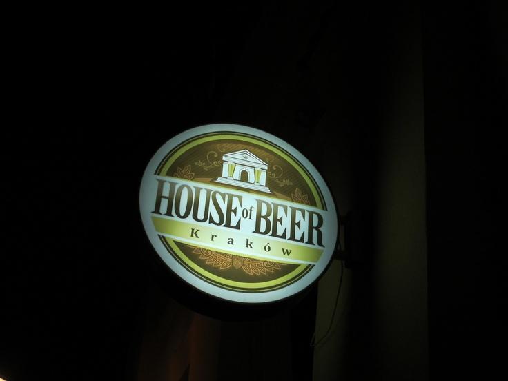 House of Beer, Krakow. polskaturka.com