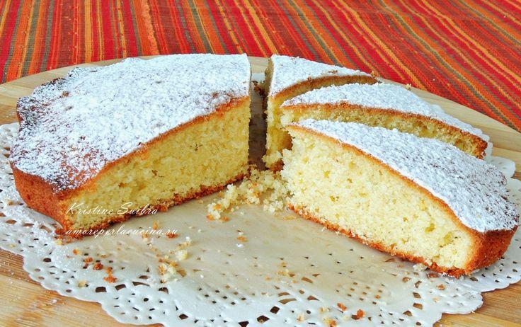 Amore per la cucina!: Пирог из пшенной и кокосовой муки/ Torta morbida di farina di miglio e cocco
