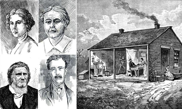 Little Slaughterhouse On The Prairie: The ghoulish tale of the family of serial killers known as the 'Bloody Benders'