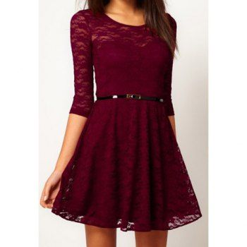I heard some mixed reviews about dresslily, but I really like this dress. If anyone knows where I can find a dress like this, that'd be much appreciated!