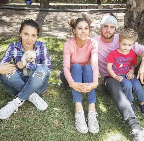 Paulina Goto, Horacio Pancheri and son (em)